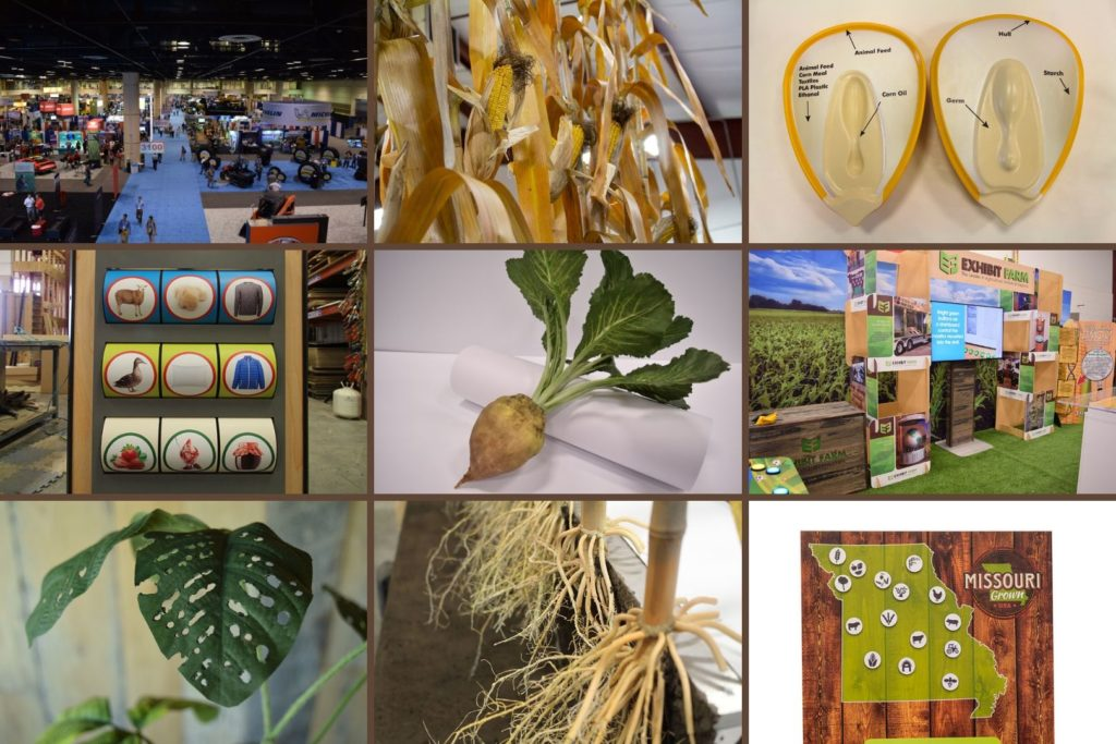 Collage of photos from Exhibit Farm's project for the 2019 in review article