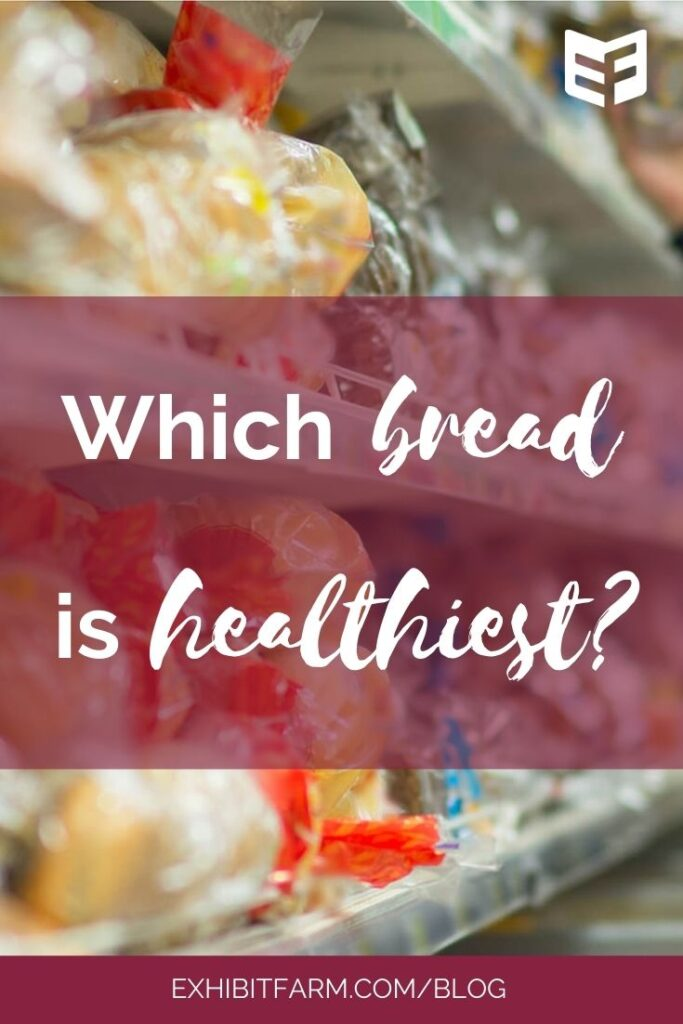 """Red graphic; text reads """"Which bread is healthiest?"""""""